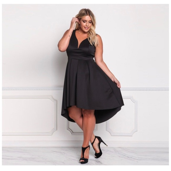 Dresses | Plus Size Black Formal Dress | Poshmark